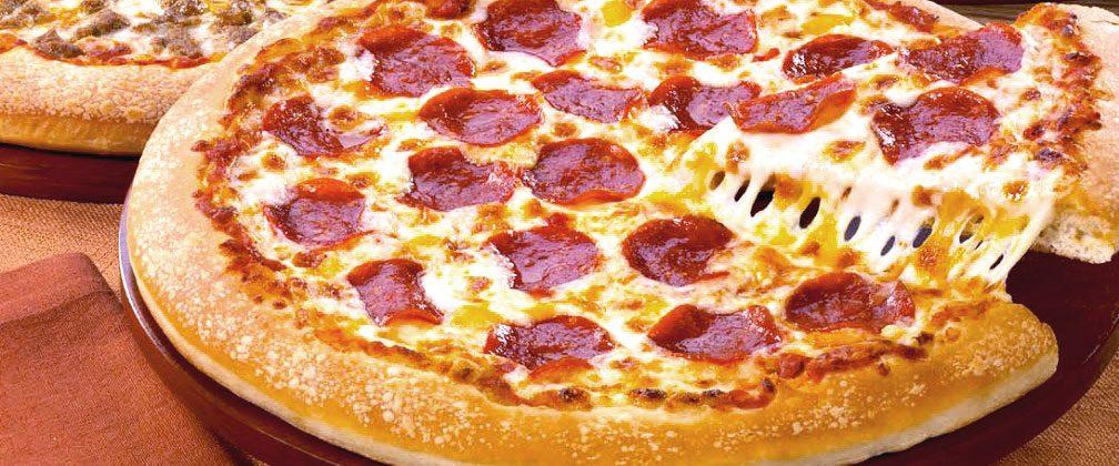 A Little Caesars Pepperoni Pizza Kit Ready to Enjoy